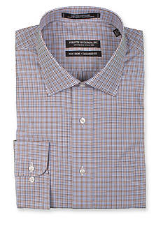Forsyth of Canada Tailored-Fit Shadow Check Long Sleeve Dress Shirt