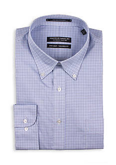 Forsyth of Canada Tailored Fit Twill Check Dress Shirt