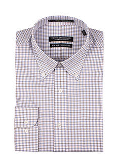 Forsyth of Canada Tailored Fit Multi Check Dress Shirt