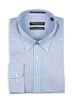 Forsyth of Canada Tailored Fit Check Dress Shirt