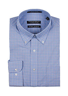 Forsyth of Canada Tailored- Fit Check Dress Shirt