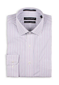 Forsyth of Canada Tailored Fit Stripe Dress Shirt