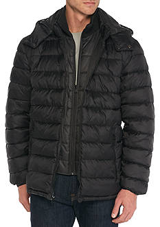 Perry Ellis® Nylon Puffer Jacket
