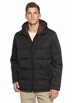 Perry Ellis® Portfolio Big & Tall Polyester Quilted Jacket.