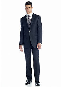 DKNY Classic Fit Dark Gray Suit