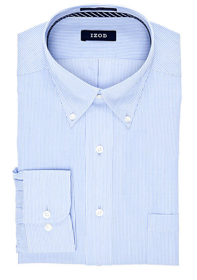 IZOD Wrinkle Free Stripe Twill Shirt
