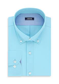 IZOD Big & Tall Twill Non-Iron Dress Shirt