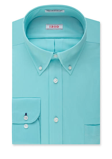 Izod big tall twill non iron dress shirt for Izod big and tall shirts