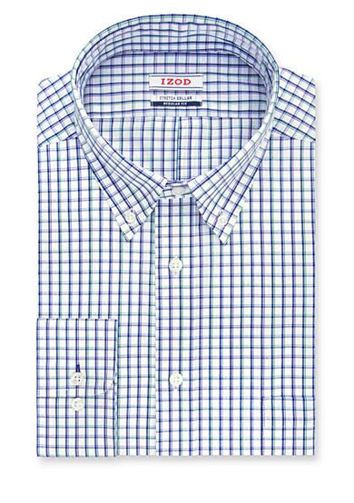 Izod Men 39 S Regular Fit Dress Shirt