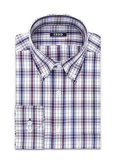 IZOD Big and Tall Twill Wrinkle Free Dress Shirt