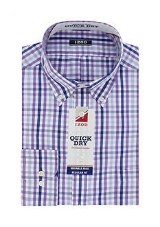 IZOD PerformX Regular- Fit Dress Shirt