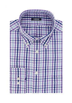 IZOD Big & Tall Long Sleeve Dress Shirt