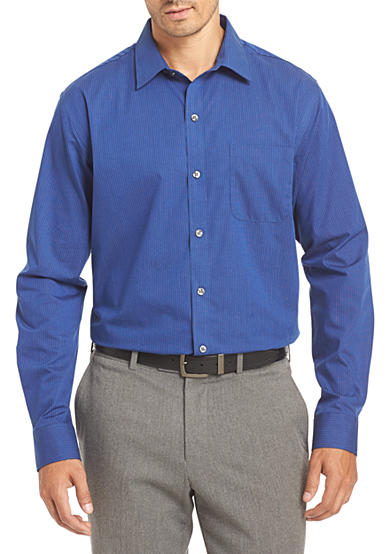 van heusen non iron stripe traveler stretch shirt belk