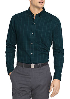 Van Heusen Long Sleeve Non-Iron Woven Shirt