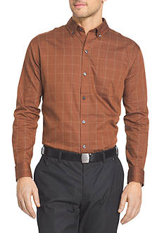 Van Heusen Long Sleeve Non-Iron Woven Shirt