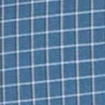Van Heusen Men Sale: Aqua Midnight Van Heusen Long Sleeve Woven Non-Iron Large Check Shirt