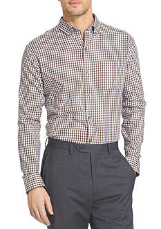 Van Heusen Long Sleeve Woven Check Non Iron Shirt
