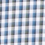Van Heusen Men Sale: Aqua Midnight Van Heusen Long Sleeve Woven Check Non Iron Shirt