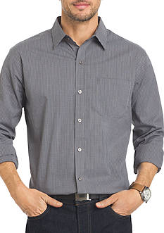 Van Heusen Long Sleeve Traveler Stretch Non-Iron Shirt
