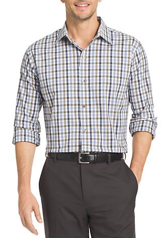 Van heusen flex stretch dress shirt belk for How to stretch a dress shirt