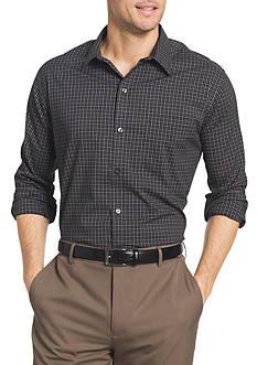 Van Heusen Long Sleeve Check Traveler Shirt