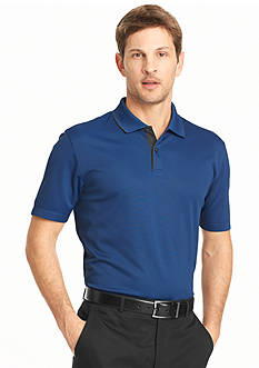 Van Heusen Short Sleeve Traveler Polo Shirt