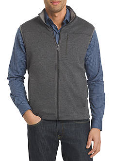 Van Heusen Traveler Solid Full Zip Vest