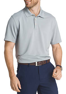 Van Heusen Short Sleeve Travel Air Polo Shirt