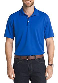 Van Heusen Short Sleeve Travel Air Polo Shirt