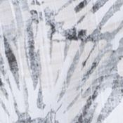 Van Heusen Big & Tall Sale: Gray Full Moon Van Heusen Big & Tall Short Sleeve Polynesian Print Woven Shirt