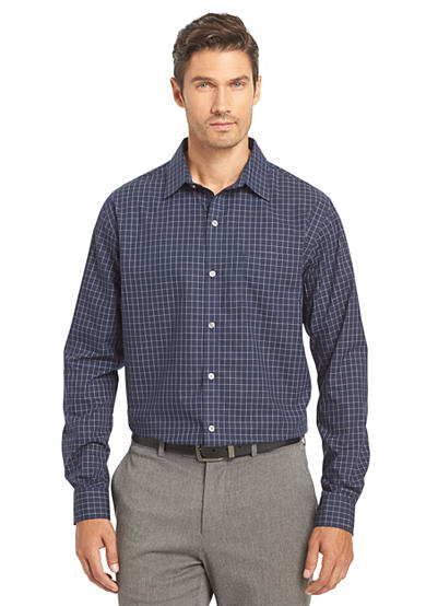 Van Heusen Big & Tall  Wrinkle Free Traveler No Iron Dress Shirt