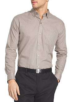 Van Heusen Big & Tall Long Sleeve Check Premium Non Iron Shirt