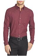 Van Heusen Big & Tall Long Sleeve Check Premium