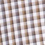 Big & Tall: Check & Plaid Sale: Khaki Ermine Van Heusen Big & Tall Long Sleeve Premium Non Iron Shirt