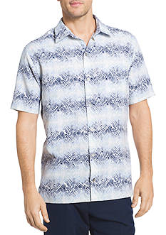 Van Heusen Big & Tall Oasis Texture Stripes Collar Shirt