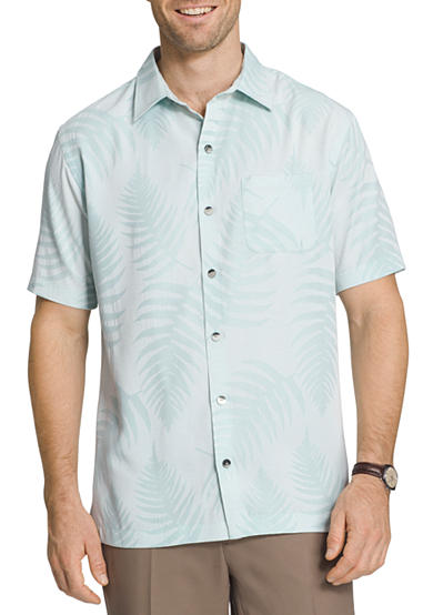 Men 39 s big and tall casual shirts tropical belk for Big and tall casual shirts