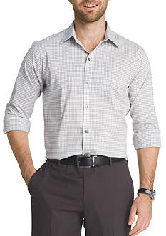 Van Heusen Big & Tall Flex Stretch Gingham Button Down Shirt
