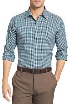 Van Heusen Big & Tall Flex Stretch Gingham Button Down Shirt