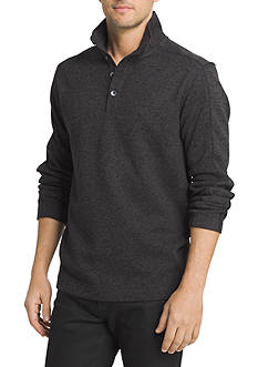 Van Heusen Big & Tall Solid Mock Neck Sweater