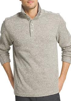 Van Heusen Big & Tall Solid Mock Neck Sweater