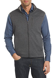 Van Heusen Big & Tall Traveler Solid Full Zip Vest