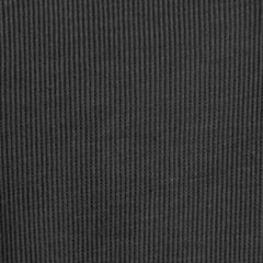 Big and Tall Sweaters: Zip Front: Black Heather Van Heusen Big & Tall Long Sleeve Spectator Solid 1/4 Zip Shirt