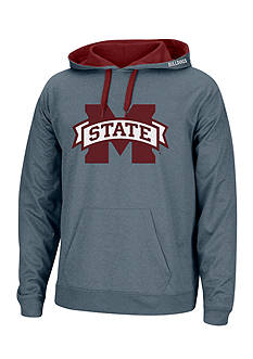 J. America Mississippi State Bulldogs Heathered Tribute Hoodie