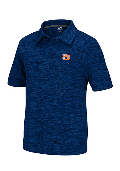 J. America Auburn Tigers Space Dyed Polo