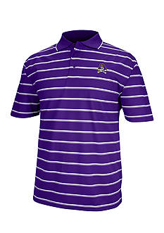J. America East Carolina Pirates Yarn Dyed Drop Needle Polo