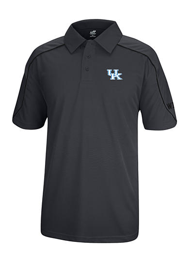 J. America Kentucky Wildcats Polyester Mesh Polo with Shoulder Paneling and Piping
