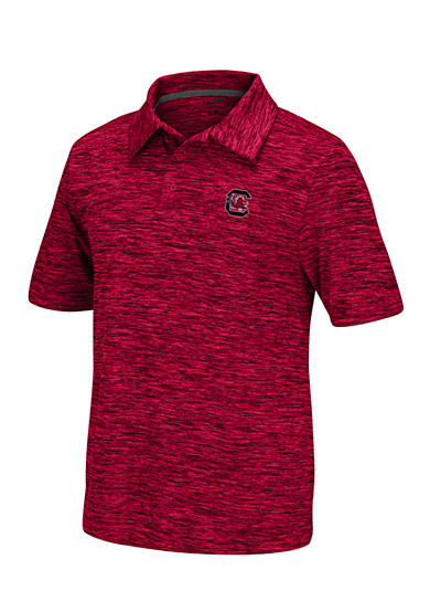 J. America South Carolina Gamecocks Space Dyed Polo