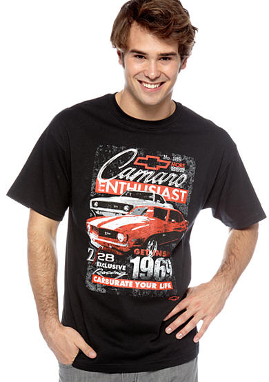 Mad Engine 1969 Z28 Racing Camaro Graphic Tee