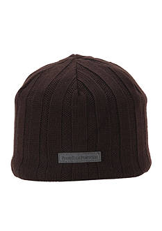 Perry Ellis Ribbed Beanie Hat