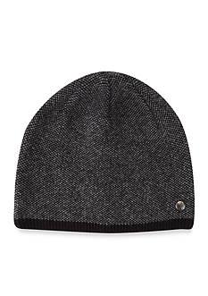 Perry Ellis Multi Pattern Knit Beanie Cap